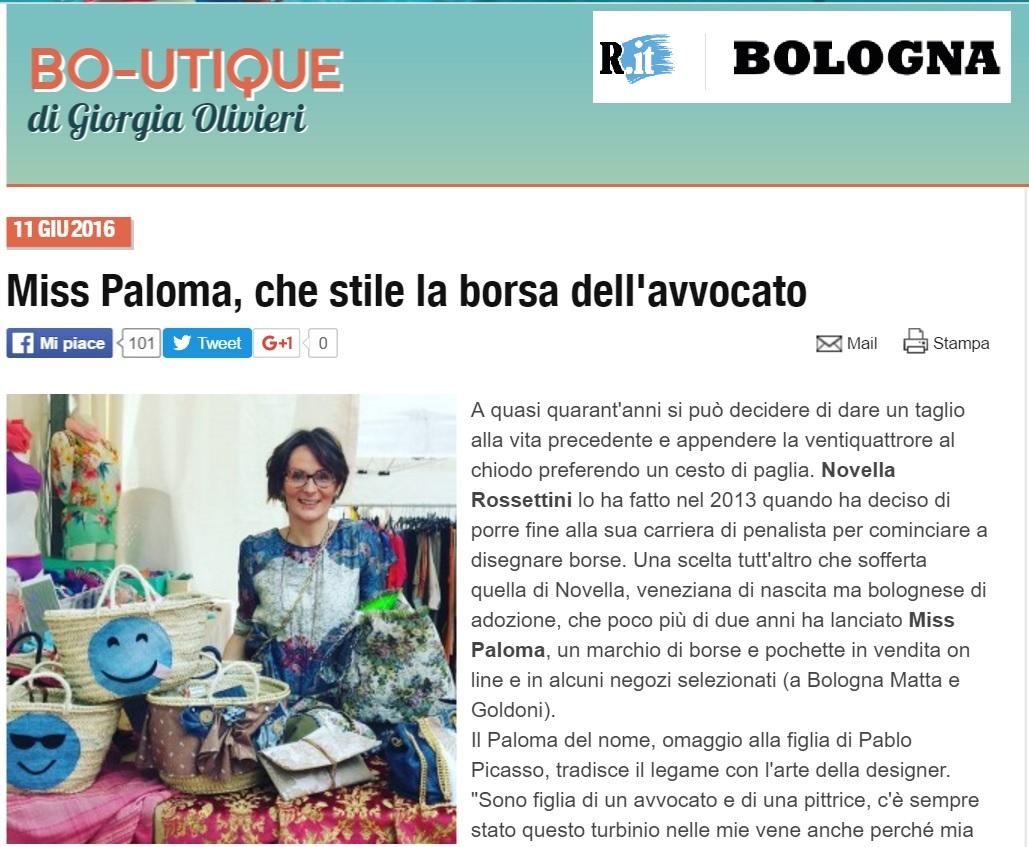 Repubblica.it - Bologna Bo-Utique